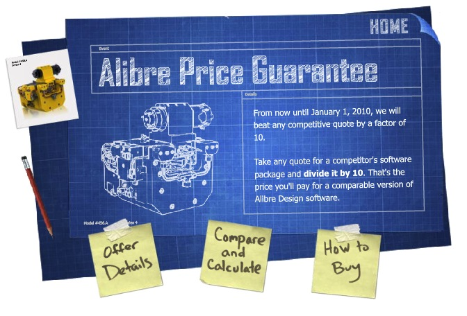 Alibre Price Guarantee